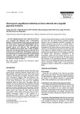 "Báo cáo khoa học: ""Heterosporis anguillarum infections in farm cultured eels (Anguilla japonica) in Korea"""