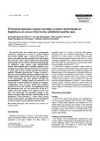 "Báo cáo khoa học: ""PCR-based detection of genes encoding virulence determinants in Staphylococcus aureus from bovine subclinical mastitis cases"""