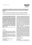 """Báo cáo khoa học: """"Antimicrobial susceptibility and molecular detection of chloramphenicol and florfenicol resistance among Escherichia coli isolates from diseased chickens"""""""