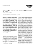 """Báo cáo khoa học: """"Relative biological effectiveness of fast neutrons for apoptosis in mouse hair follicles"""""""