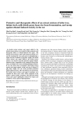 """Báo cáo khoa học: """"Protective and therapeutic effects of an extract mixture of alder tree, labiate herb, milk thistle green bean-rice bran fermentation, and turnip against ethanol-induced toxicity in the rat"""""""