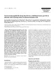 "Báo cáo khoa học: ""Serum immunoglobulin fused interferon-Ձ inhibited tumor growth in athymic mice bearing colon 26 adenocarcinoma cells"""