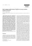 "Báo cáo khoa học: ""The C-terminal variable domain of LigB from Leptospira mediates binding to fibronectin"""