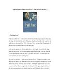 Sáng kiến kinh nghiệm môn triết học : chương 1 triết học là gì