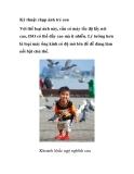 Kỹ thuật chụp ảnh trẻ con Với thể loại ảnh này, cần có máy tốc độ lấy