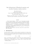 """Báo cáo toán học: """"Jack deformations of Plancherel measures and traceless Gaussian random matrices"""""""