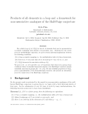 """Báo cáo toán học: """"Products of all elements in a loop and a framework for non-associative analogues of the Hall-Paige conjecture"""""""