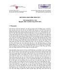 BÀI THẢO LUẬN CHÍNH SÁCH SỐ 1 Tình trạng bất ổn vĩ mô: Nguyên nhân và phản ứng chính sách