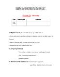 Giáo án Tiếng Anh lớp 11: UNIT 4: VOLUNTEER WORK-LISTENING