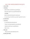 Giáo án Công Nghệ lớp 12: Bài 21 : THỰC HÀNH MẠCH KHUẾCH ĐẠI ÂM TẦN
