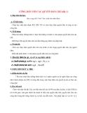 Giáo án Công Dân lớp 12: CÔNG DÂN VỚI CÁC QUYỀN DÂN CHỦ(tiết 1)