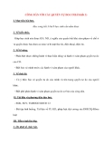 Giáo án Công Dân lớp 12: CÔNG DÂN VỚI CÁC QUYỀN TỰ DO CƠ BẢN(tiết 3)