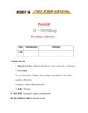 Giáo án Tiếng Anh lớp 11: UNIT 8: CELEBRATION-WRITING