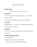 Giáo án Công Dân lớp 12: PHÁP LUẬT VÀ ĐỜI SỐNG