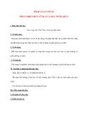 Giáo án Công Dân lớp 12: PHÁP LUẬT VỚI SỰ PHÁT TRIỂN BỀN VỮNG CỦA ĐẤT NƯỚC(tiết 2)