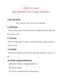 Giáo án Công Dân lớp 12: PHÁP LUẬT VỚI SỰ PHÁT TRIỂN BỀN VỮNG CỦA ĐẤT NƯỚC (tiết 3)