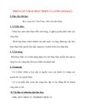 Giáo án Công Dân lớp 12: PHÁP LUẬT VỚI SỰ PHÁT TRIỂN CỦA CÔNG DÂN(tiết 2)