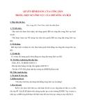 Giáo án Công Dân lớp 12: QUYỀN BÌNH ĐẲNG CỦA CÔNG DÂN TRONG MỘT SỐ LĨNH VỰC CỦA ĐỜI SỐNG XÃ HỘI