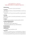 Giáo án Công Dân lớp 12: QUYỀN BÌNH ĐẲNG CỦA CÔNG DÂN TRONG MỘT SỐ LĨNH VỰC CỦA ĐỜI SỐNG XÃ HỘI(tiết 1)