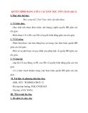 Giáo án Công Dân lớp 12: QUYỀN BÌNH ĐẲNG GIỮA CÁC DÂN TỘC, TÔN GIÁO (tiết 2)