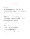 Giáo án Tin Học lớp 11: TỔ CHỨC LẶP (tiết 1)