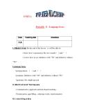 Giáo án Tiếng Anh lớp 11: UNIT 1: FRIENDSHIP-LANGUAGE FOCUS