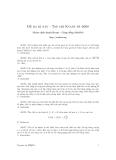 Đề toán học lớp 12 - đề 3