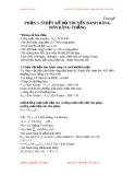 """ĐỒ ÁN CƠ SỞ THIẾT KẾ MÁY """" TRẠM DẨN ĐỘNG BĂNG TẢI """" - Phần 3"""