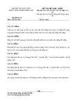 Đề thi môn Phát triển PM HĐT với UML - đề 3
