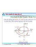 Bài giảng lý thuyết điều khiển tự động - Khảo sát tính ổn định của hệ thống part 10