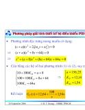 Bài giảng lý thuyết điều khiển tự động - Thiết kế hệ thống điều khiển liên tục part 10