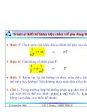 Bài giảng lý thuyết điều khiển tự động - Thiết kế hệ thống điều khiển liên tục part 8