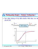 Bài giảng lý thuyết điều khiển tự động - Thiết kế hệ thống điều khiển liên tục part 9