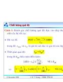 Bài giảng lý thuyết điều khiển tự động - Phân tích và thiết kế hệ thống điều khiển rời rạc part 4