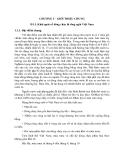 Sổ tay thủy văn cầu đường - GIỚI THIỆU CHUNG part 1