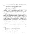 Sổ tay thủy văn cầu đường - TÍNH TOÁN DÒNG CHẢY TRONG ĐIỀU KIỆN TỰ NHIÊN part 2