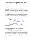 Sổ tay thủy văn cầu đường - TÍNH TOÁN THUỶ VĂN TRONG TRƯỜNG HỢP ĐẶC BIỆT part 1
