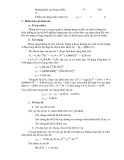Sổ tay thủy văn cầu đường - PHÂN TÍCH THUỶ LỰC CÔNG TRÌNH CẦU THÔNG THƯỜNG part 10