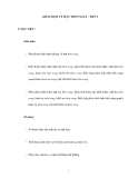 KHÁI NIỆM VỀ MẶT TRÒN XOAY - TIẾT 2