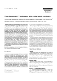 """Báo cáo khoa học: """"Three-dimensional CT angiography of the canine hepatic vasculature"""""""