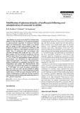 """Báo cáo khoa học: """"Modification of pharmacokinetics of norfloxacin following oral administration of curcumin in rabbits"""""""