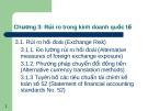 Chương 3: Rủi ro trong kinh doanh quốc tế