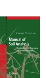 Manual for Soil Analysis-Monitoring and Assessing Soil Bioremediant   Phần 1