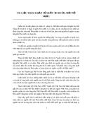 TÀI LIỆU THAM KHẢO VỀ QUỐC TỊCH CỦA MỘT SỐ NƯỚC