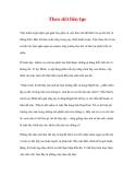 CÁC YẾU TỐ THÀNH CÔNG CỦA CUỘC HUÂN LUYỆN - 8
