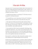 CÁC YẾU TỐ THÀNH CÔNG CỦA CUỘC HUÂN LUYỆN - 1