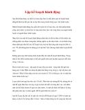 CÁC YẾU TỐ THÀNH CÔNG CỦA CUỘC HUÂN LUYỆN - 4