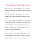 CÁC YẾU TỐ THÀNH CÔNG CỦA CUỘC HUÂN LUYỆN - 6