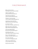 CA DAO VỀ CÁC ĐỊA DANH - TỈNH THÀNH PHỐ - 6