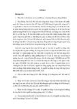 Bài tập học kì Luật Lao Động Đề 6